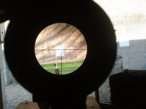 target shooting scope